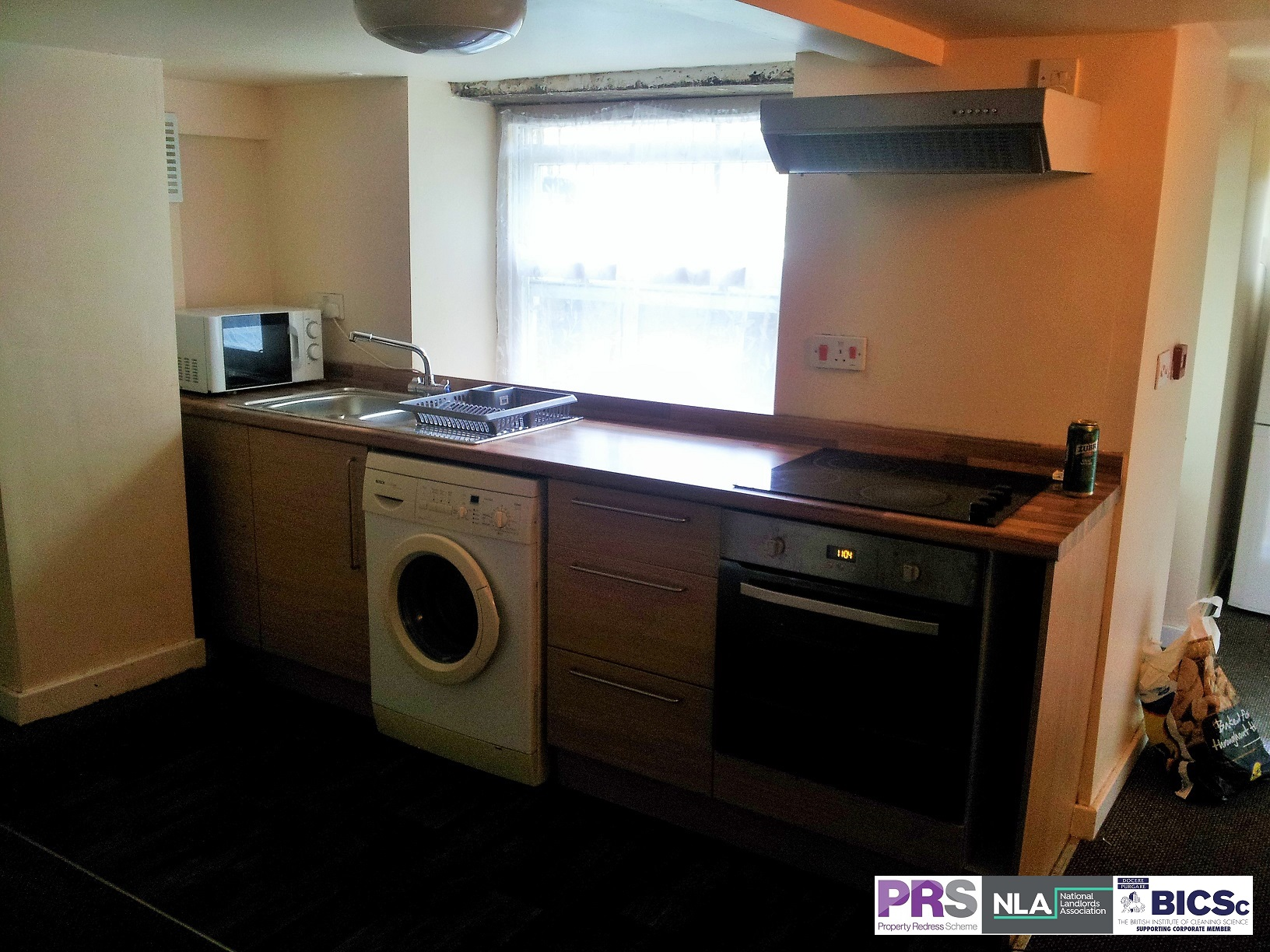 Basement 1 Bed Flat – 56 Peel – BD8